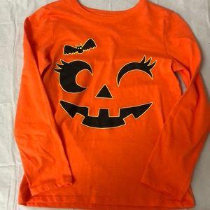 Long sleeve pumpkin shirt